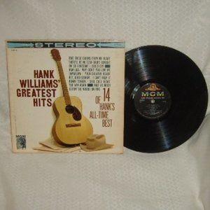 Album Hank Williams Greatest Hits Jambalaya & More